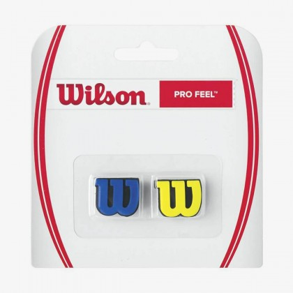 Wilson Pro Feel Blue/Yellow Racquet Dampener Online at Best Price, Reviews