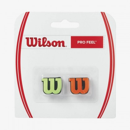 Wilson Pro Feel Green/Orange Racquet Dampener Online at Best Price, Reviews
