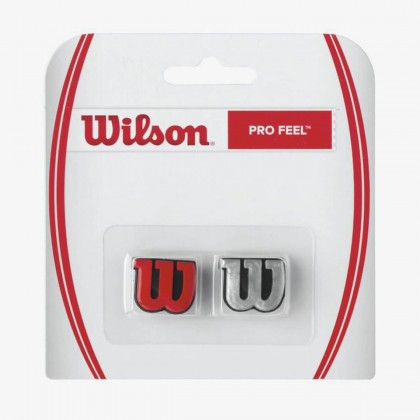 Wilson Pro Feel Red/Silver Racquet Dampener Online at Best Price, Reviews