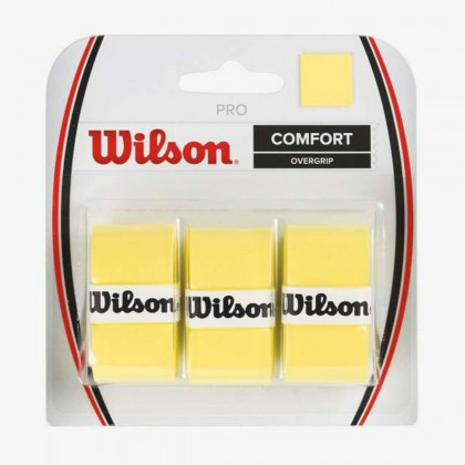 Wilson Yellow Pro Confort Overgrip Tennis Racquet Overwrap/Grip Pack of 3 Online at Best Price, Reviews