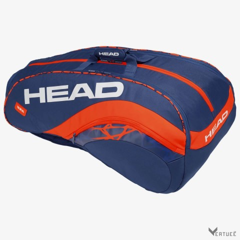 HEAD Radical 12R Monstercombi Blue/Orange Tennis Kit Bag (12 Racquets)