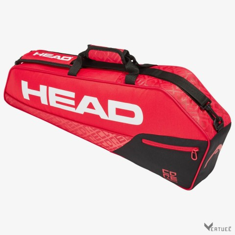 HEAD Core 3R Pro Black/Red Tennis Kit Bag (3 Racquets)
