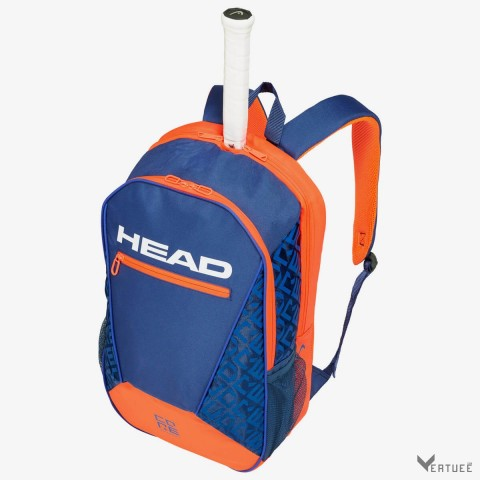 HEAD Core Backpack Blue/Orange Yellow Tennis Kit Bag